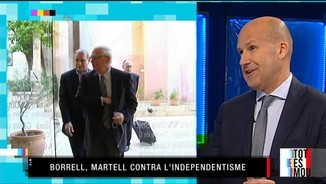 Josep Borrell, martell contra l'independentisme