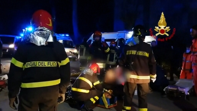 Sis morts, cinc dels quals eren menors, en una allau humana en una discoteca a Itàlia