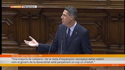 """Xavier García Albiol: """"Ha estat un cas inaudit de demència d'un poder públic"""""""