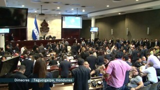 L'OEA acusa el govern d'Hondures de canviar la llei per protegir els polítics corruptes