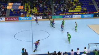 Hoquei patins: F. C. Barcelona - C. P. Calafell (1a part)