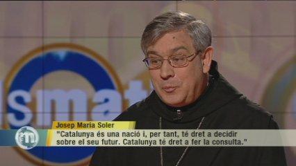 Pare Abat: Catalunya és una nació i té dret a decidir sobre el seu futur