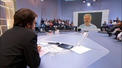 """Julian Assange: """"El que passa a Catalunya, el més important des de la caiguda del mur de Berlín"""""""