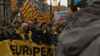 La manifestació de Brussel·les, des de dins