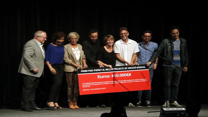 El Quartet Brossa i The Pinker Tones s'enduen el Premi Puig Porret amb un projecte tribut a Leon Theremin