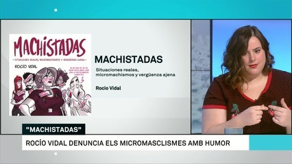 """Machistadas"", còmic reivindicatiu"