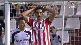 Resum de l'Albacete-Girona (1-0)