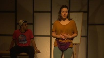 """""""Alhayat o la suma dels dies"""", una obra de teatre sobre la vida als camps de refugiats"""