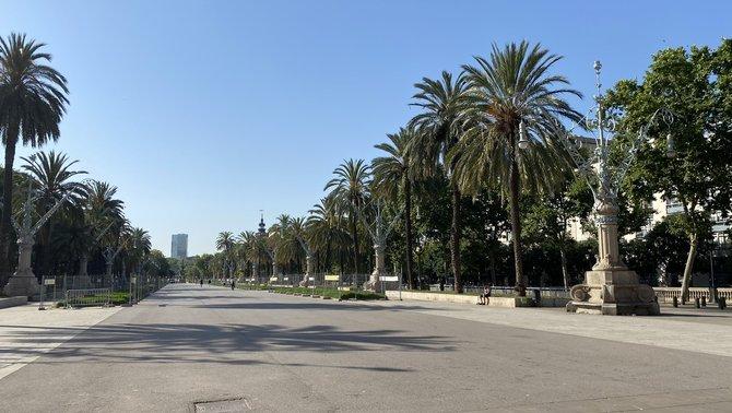 Mor un home apunyalat en una baralla a Arc de Triomf, a Barcelona