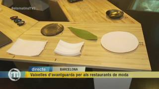 Vaixelles exclusives per als restaurants de moda
