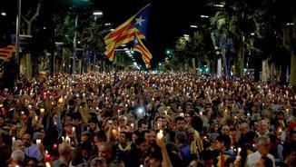 """Agusti Alcoberro (ANC): """"No tenim por. Per cada represaliat, s'aixecaran cinc veus més"""""""