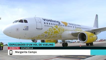 Una passatgera de Vueling denuncia que la van fer fora per adreçar-se a la tripulació en català