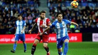 Màlaga 0 - Girona 0. La primera part
