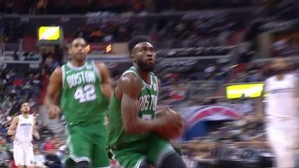 Top3 NBA: la filigrana impecable de Jaylen Brown