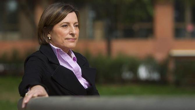 Carme Forcadell, first to take her case to the European Court of Human Rights