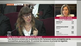 Les conclusions definitives d'Olga Arderiu