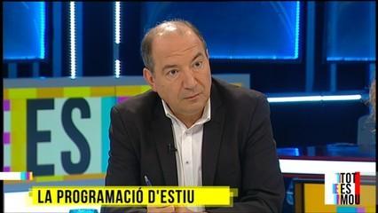 Vicent Sanchis ens avança la programació d'esitu a #TotesmouTV3