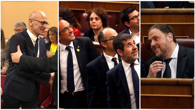 La Fiscalia demana al Suprem la suspensió de Junqueras, Sànchez, Turull, Rull i Romeva