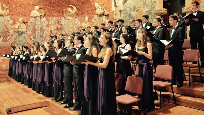 Cantaires de l'Orfeó Català rebutgen la presència del rei al Palau de la Música
