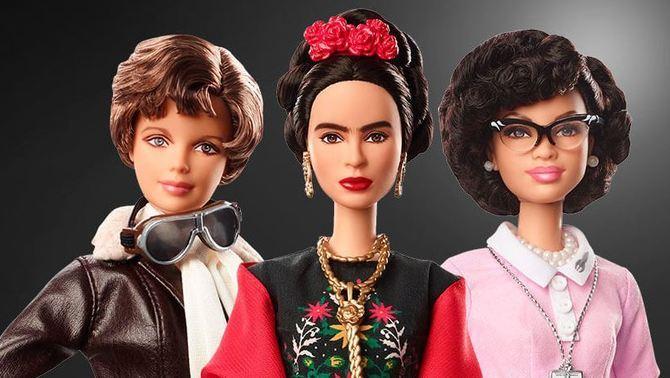 Barbie homenatja dones que van fer història, com Frida Kahlo o Amelia Earhart