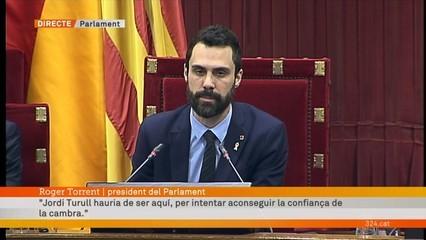 """Torrent: """"Anuncio que suspenc el ple"""""""