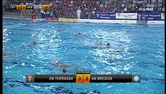Waterpolo Champions League: CN Terrassa-Brescia