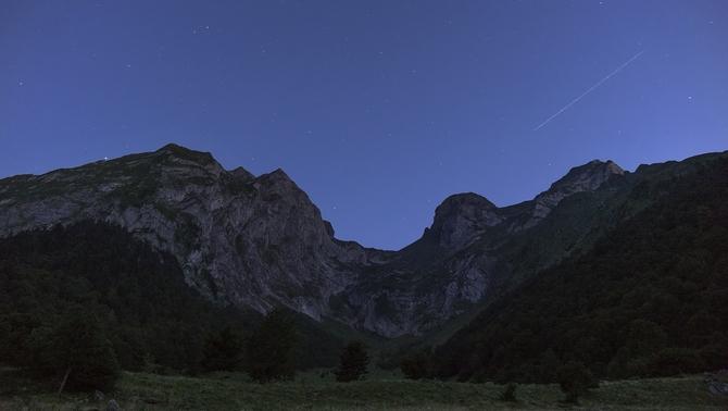 Fotografia nocturna a la Vall de Lin (Enric Navarrete-Arxiu)