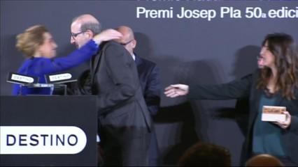 Antoni Bassas guanya el Premi Josep Pla i Alejandro Palomas s'emporta el Nadal