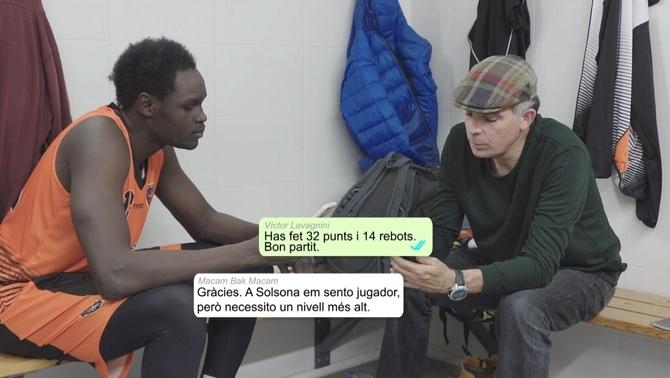 La història de Macam Bak: jugador de bàsquet sord del Solsona