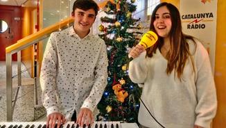 Sandra Hunter ens canta una nadala dedicada a Girona