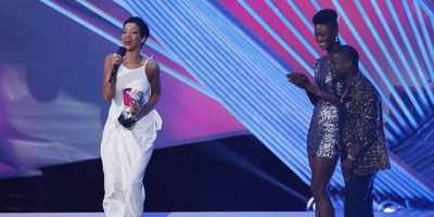 "Rihanna guanya el Video Music Awards al millor vídeo de l'any per ""We Found Love"""