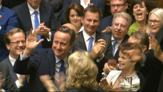 Cameron, primer ministre durant sis anys i 62 dies