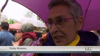Manifestació en defensa de l'escola catalana i la immersió lingüística