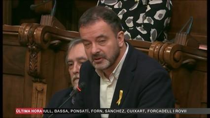 """Alfred Bosch: """"M'entristeix profundament que haguem arribat a aquesta situació"""""""