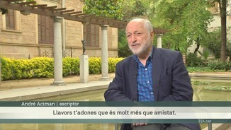 "André Aciman autor de ""Call me by your name"" presenta nova novel·la"