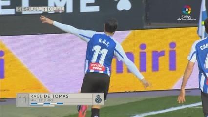 Resum de l'Espanyol - Sabadell (1-0)