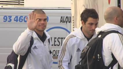 El Madrid s'entrena al matí