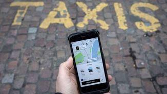 La plataforma Uber amenaça el sector del taxi