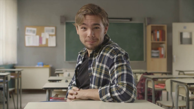 """El personatge del Pol (Carlos Cuevas) de la sèrie """"Merlí"""""""