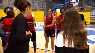 L'Eurolliga femenina arriba a Fontajau amb el partit Uni Girona - Sopron