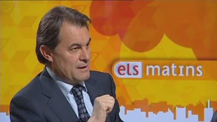 "Mas: ""O influïm a Madrid, o no millorarà la nostra economia"""
