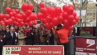 """""""Catalunya migdia"""": Marató de donació de sang"""