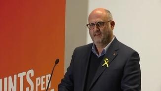 """Eduard Pujol: """"No s'ha plantejat cap nom que no sigui el de Jordi Sànchez"""""""