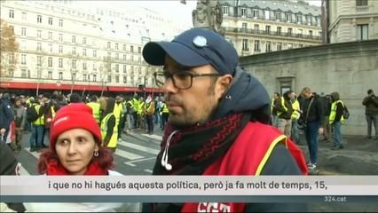 Els Armilles Grogues es manifesten a París