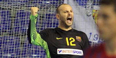 Daniel Saric, porter del F. C. Barcelona. (Foto: www.fcbarcelona.com)