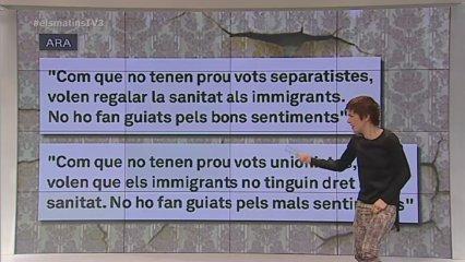 "Empar Moliner li dedica ""Sobrecito"" a Luis Bárcenas"