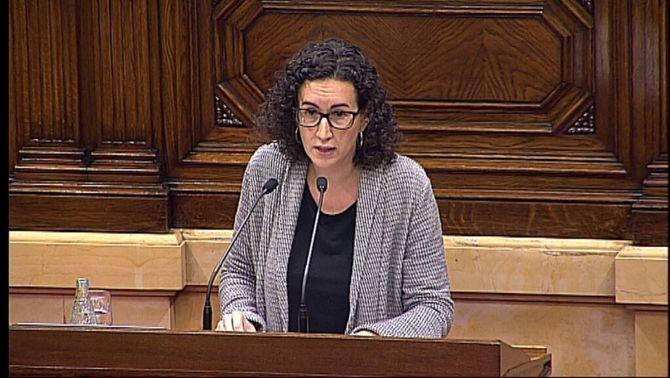 """Marta Rovira: """"Valorem molt que la CUP digui que està collada a la taula de negociació"""""""