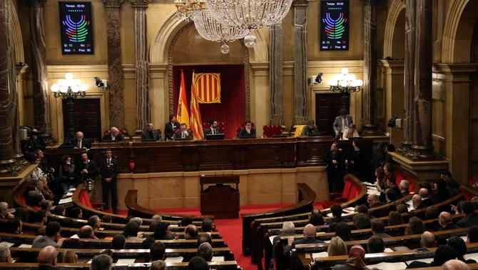 El Parlament ratifica Puigdemont sense referències a la república ni a la independència