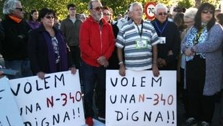 Els veïns de l'Ebre critiquen la passivitat dels alcaldes per la sinistralitat a l'N-340