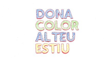 Dona color al teu estiu, a TV3 (molinet 2)